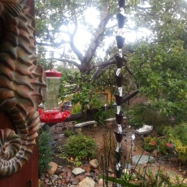 Rain Chains gather dew and rain